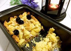 椰香黑樱桃软酥饼