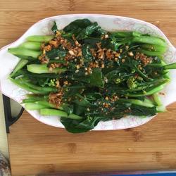 水煮芥兰菜