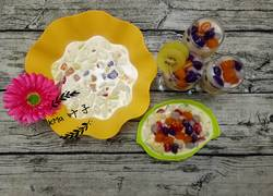 酸奶芋圆水果沙拉