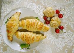 自制牛角酥(制作包酥和抹酥的牛角酥)