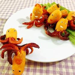 香肠小章鱼