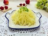 清炒土豆丝的做法[图]