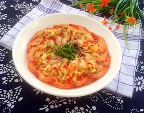 蒜蓉蒸虾[图]