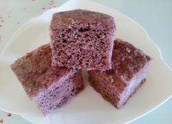 紫米面奶香发糕