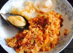意式茄汁海鲜烩饭