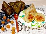 瑤柱咸蛋咸肉粽的做法[图]