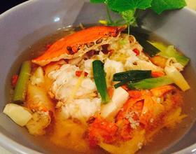 螃蟹烩豆腐