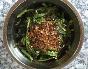 虎皮青椒豇豆