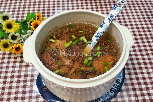 松茸排骨汤