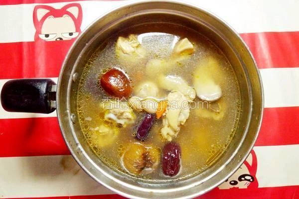 花菇灵芝养生汤