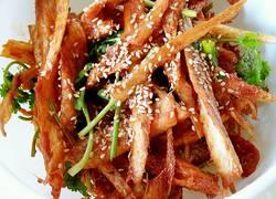 朝鲜族小菜辣酱明太鱼