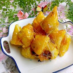 拔丝粽子的做法[图]