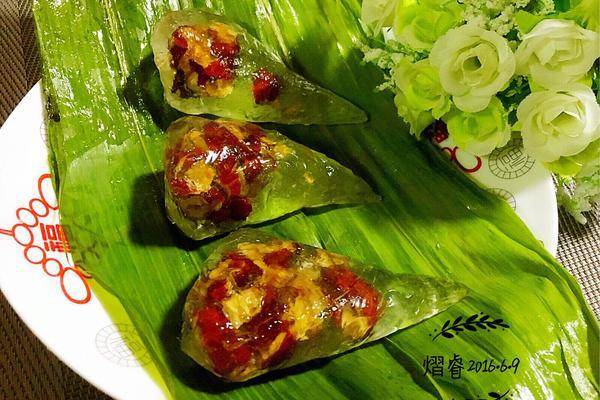 #端午节#水晶红枣粽