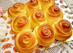 玫瑰花面包(手揉版)