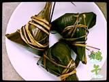 桂圆红枣葡萄干三角粽的做法[图]