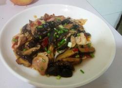 香菇肉片(家常菜)