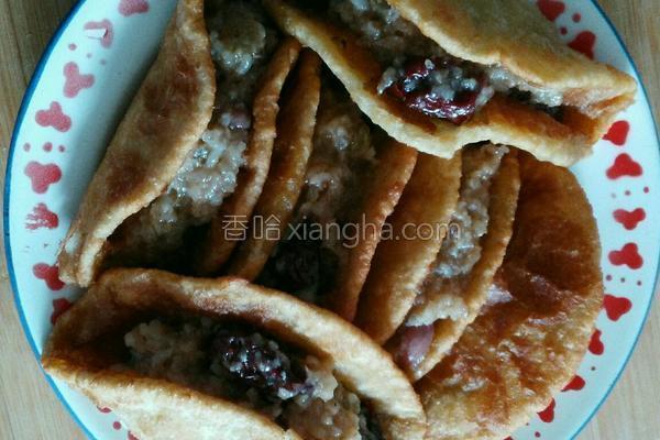 油饼卷糕的做法