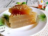 姜汁红糖千层马蹄糕的做法[图]