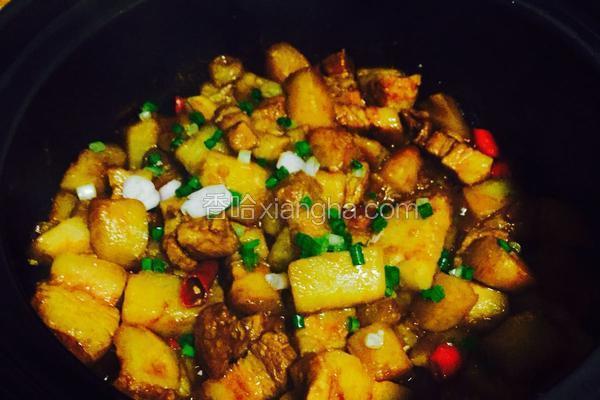 土豆五花肉