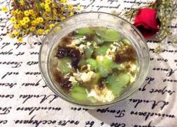 丝瓜紫菜蛋汤