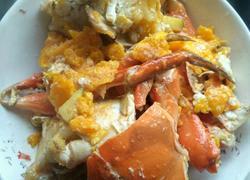 咸蛋黄焗青蟹