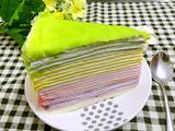 彩虹千层蛋糕的做法[图]