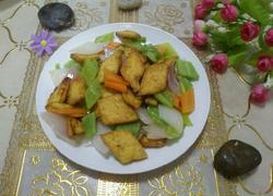 清炒时蔬豆腐