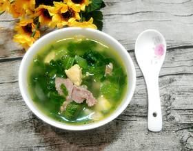 咸蛋黄芥菜汤
