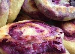 自制南瓜紫薯饼