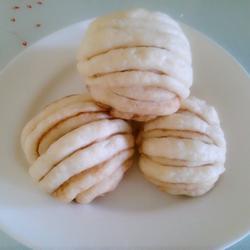 麻酱奶香花卷