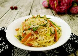 青椒土豆丝炒饭