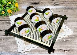 蟹肉棒肉鬆壽司