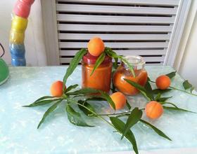 自制杏子果酱