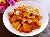 辣白菜炒土豆片的做法[图]