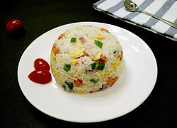 洋葱火腿炒饭