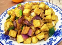 鱿鱼豆腐丁