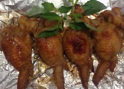 鸡翅包糯米饭