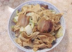 大白菜炒人造肉
