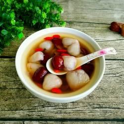 枸杞红枣荔枝汤的做法[图]