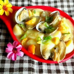 花蛤炖曰本豆腐