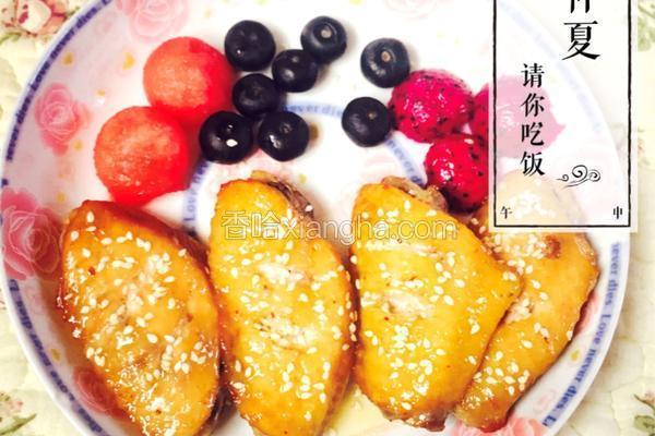 烤箱版烤鸡翅(蜂蜜/烧烤)