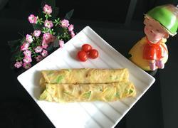 南瓜鸡蛋卷饼