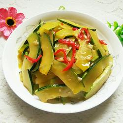 清炒嫩南瓜片