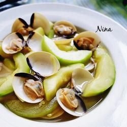 丝瓜炖蛤蜊