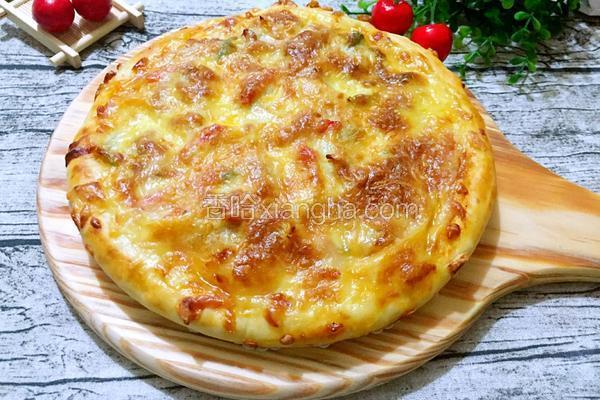 奥尔良鸡腿肉披萨(九寸)