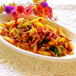 肉香煸土豆