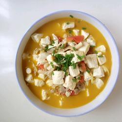 番茄菌菇炖豆腐