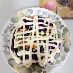 芦笋杂锦沙拉
