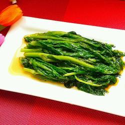 橄榄油清炒生菜