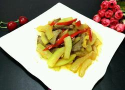 西瓜皮炒猪肝
